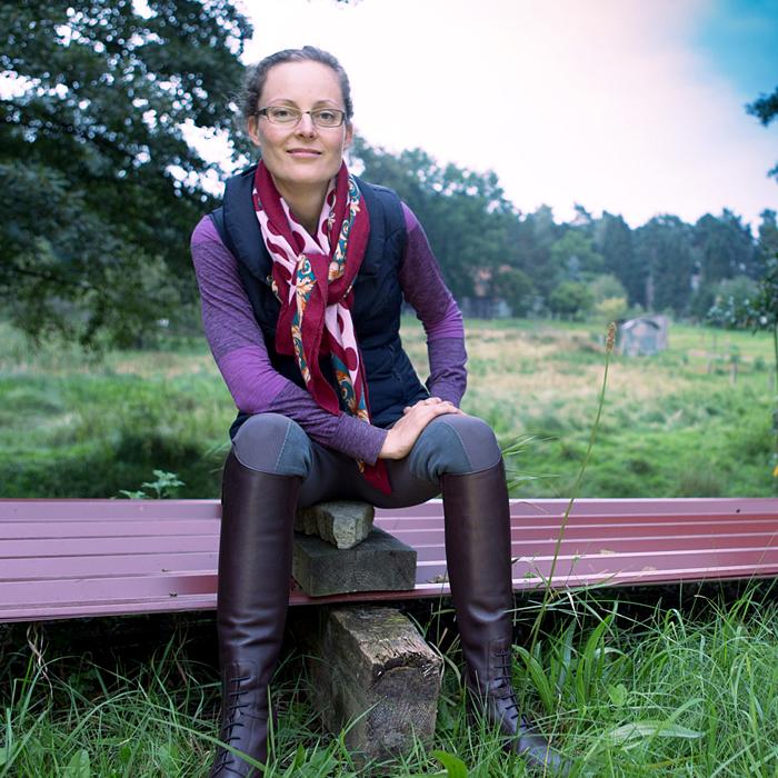 Reitlehrerin Ellen Keßler