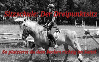 """Neu bei YouTube """"Sitzschule: Der Dreipunktsitz. So platzierst du dein Becken richtig im Sattel!"""""""